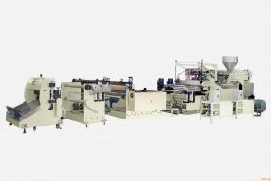 China Professional Plastic Sheet Extrusion Machine / Automatic PET Sheet Extruder on sale