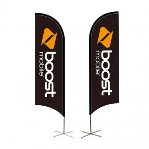 China Free Custom Design Outdoor Advertising Flag Seasonal Promotional Expo Sublimation Printing Wind Banner on sale