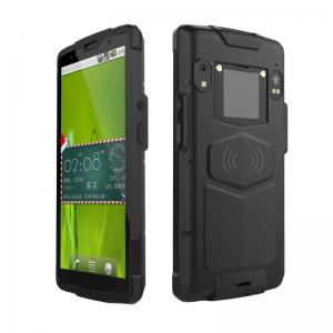 China GPS Qr code black Android 8.1 Barcode Scanners with 4500mAh battery on sale