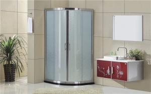 China Simple Aluminum Alloy Quadrant Shower Cubicles 1900mm Height For House / Hotel on sale