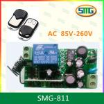SMG-801 85v-260v AC 1 channel remote control with receiver