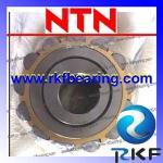 Fileira segura NTN 60UZS87 de carregamento excêntrico do dobro do desempenho com gaiola de bronze