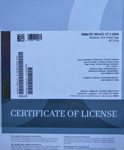 6AV6381-2BH07-4AX0 Industrial Automation Products Siemens WinCC