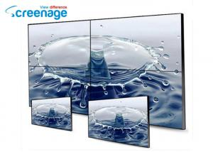 China Indoor Video Wall Monitors TV Panel Digital Signs Rohs 8mm Bezel on sale