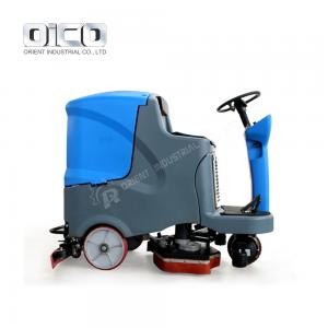 China ride-on scrubber dryers industrial automatic rider scrubber ride on floor scrubbing machines on sale