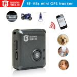 China MINI Real-time GPS tracker& SOS communicator RF-V8S,Long standby,ISO/Android APP wholesale