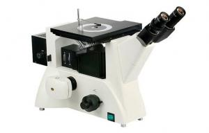 China DIC Trinocular Eyepieces Inverted Fluorescence Microscope , Inverted Optical Microscope  on sale