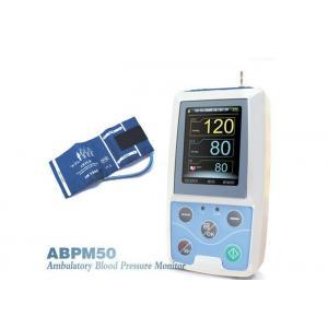 China handheld NIBP / SPO2 24 Hours Ambulatorial Digital Blood Pressure Monitor on sale