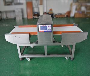 China Altos detectores de metales de congelación sensibles de la industria alimentaria con la banda transportadora 40m/min on sale