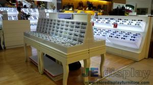 Quality Eyeglass Display Case Optical Store Interior Design By Wall Eyeglass  Display Cabinets In Black With ...