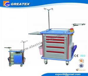 China CE ISO medical equipment trolley cart for oxygen cylinder and Medicine Deliver on sale