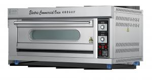 China Okicook Commercial 8800W 1 Deck 2 Trays Catering Electric Oven on sale