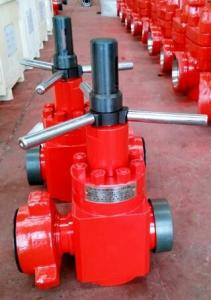 China 4 1/16 Metal To Metal Pressure Seal Gate Valve For Oil Well Cementing Operation on sale