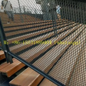 China heavy duty stainless steel expanded mesh / expanded metal mesh fence on sale