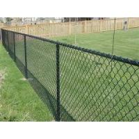 China Metal Frame Galvanized Chain Link Fence Panels With 2-2.5mm Wire Diameter on sale