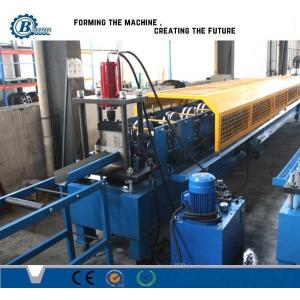 China Half Round Gutter Roll Fomrer Machine With Automatic Length Measuring on sale