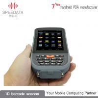 Grey PDA Intelligent Bluetooth Thermal Printer Hand Held IP65 3C ROHS