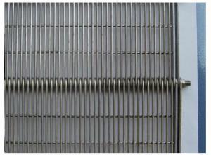 China Bandas transportadoras de la flexión de acero del ojo en venta on sale