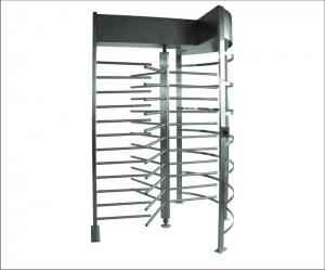 Quality LED Display Full Height Turnstile Security Ent for sale