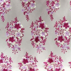 China Factory wholesale new design chemical dress kid girl lace embroidered fabrics in china on sale