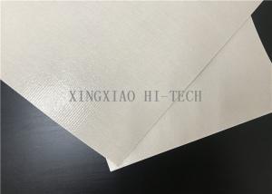 China Fiberglass Conveyer Belt Fabric PTFE / Teflon Coated 1.1mm Thickness on sale