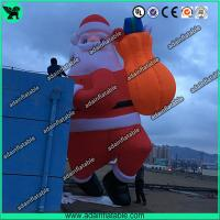 China New Brand Christmas Advertising Decoration 6m Climbing Inflatable Santa Claus Cartoon on sale