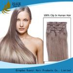 Double Pull Wholesale Factory Provides High Quality Remy Hair Clips Hair Extensions for Hair Extensions