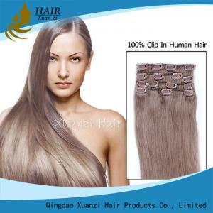 China Double Pull Wholesale Factory Provides High Quality Remy Hair Clips Hair Extensions for Hair Extensions on sale