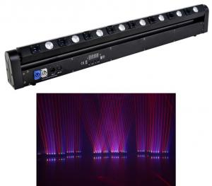 China 8 Heads Laser Stage Lighting Red Green Blue Laser Stage Lighting Laser Disco Lighting on sale