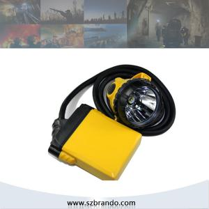 China KL12LM 25000lux Corded coal miners headlamp with 10.4Ah Li-ion Battery supplier