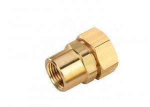 China Custom CNC Brass Parts / Precision CNC Lathe Machine Turning Spare Parts on sale