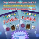La fábrica del defecto los E.E.U.U. Sprint de FalWok desbloquea la tarjeta del sim para Internet del BORDE del uso de la tarjeta del sim del trabajo 3G del IOS 7 del iPhone 4S
