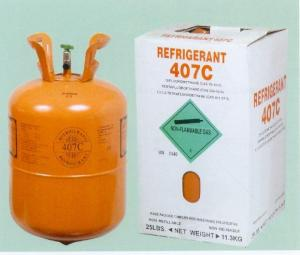 China Refrigerant R407c Mixed refrigerant Replacement for R22 on sale