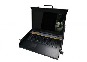China High Performance LCD KVM Switch , 16 Ports CAT5 Rackmount LCD Drawer on sale