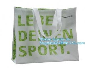 China Low price recyclable plastic pp woven shopping bag manufacturers,Factory low price promotional PP laminated woven shoppi on sale