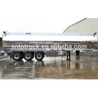 China 43 CBM Aluminium Fuel Tank Trailer on sale