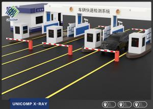 China Security Check Car X Ray Scanner , Vehicle X Ray Machine With Fast Inspection on sale
