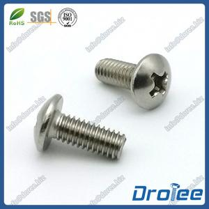 China 304/316 Stainless Steel Philips Truss Head Machine Screws on sale