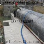 China Custom Water Filling Rubber Dam Bladder of  black	to Zambia wholesale