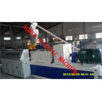 China Polymer Wood Plastic Extrusion Line / PVC Extrusion Line for Floor on sale