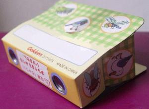 China Customized Paper Toy Models - Laminated / Glossy Cardboard Folding Paper Binoculars on sale