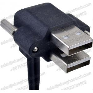 China Right Angle A USB 2.0 High Speed Cable Assemblies UL Approval on sale
