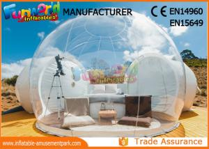 China Outdoor Camping Bubble Inflatable Party Tent / Clear Dome Igloo Tent on sale