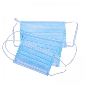 China Non Woven 3 Ply Disposable Face Mask on sale