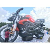 China Cheap Air Inflated Character Balloon Custom Advertising Inflatable Motorbike on sale