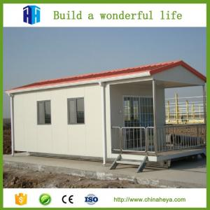 China Cheap export mini 1 bedroom eco friendly mobile homes design 28.91m2 on sale