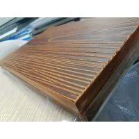 Commercial External Fibre Board Cladding , Cement Fiber Shingles Square / Recessed Edge