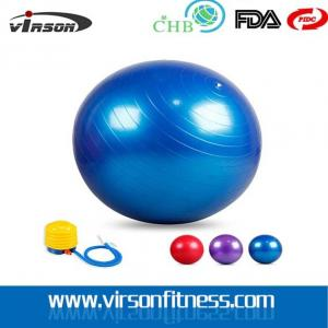 China Wholesale Anti-Brust Gymnastic Various Colors PVC Gym ball on sale