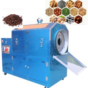 China Stainless Steel Electric Nut Processing Machine , Peanut Roasting Machine on sale