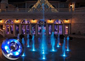 China Waterfalls Underwater LED Fountain Light 18 W Low Consumption on sale